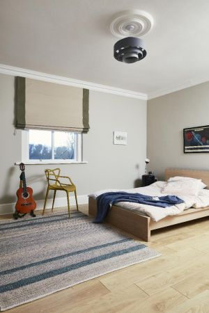 kids bedroom,timber flooring,blinds,chair,bed,aretwork