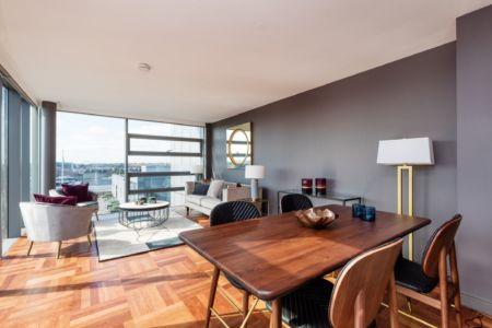 79 Block B Smithfield Market - Dining Living Area