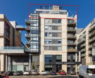 79 Block B Smithfield Market - Exterior Lined