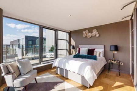79 Block B Smithfield Market - Master Bed
