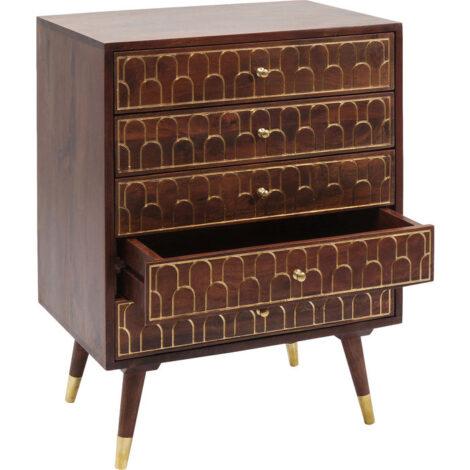 Dresser Muskat 5 Drawers